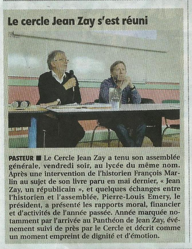 Article et photo Rep-Centre